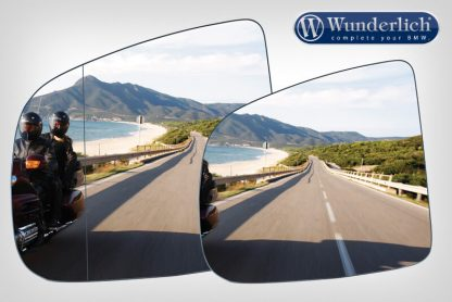 SaferView replacement mirror glass left – blue
