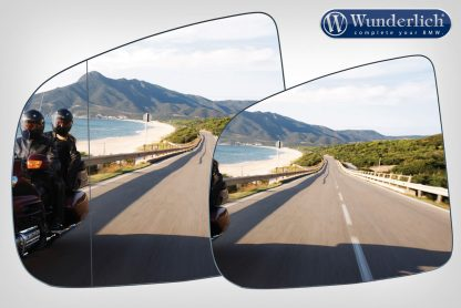 Mirror glass expansion SAFER-VIEW – Left or Right – chromed