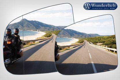 Mirror glass expansion SAFER-VIEW – Left – chromed