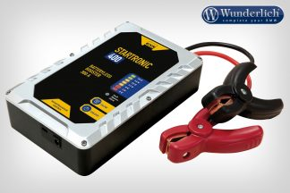 Startronic 400 portable 12 V emergency starter with super-capacitors – black-silver
