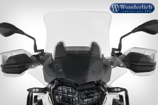 Wunderlich windshield MARATHON – Carrier long (160mm) – clear