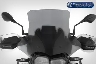 Wunderlich windshield MARATHON – Carrier short (115mm) – smoked grey