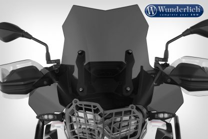Wunderlich Windscreen EXTREME – Carrier short (115mm) – smoked grey