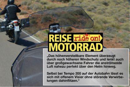 Wunderlich Vario ERGO screen deflector  smoked grey