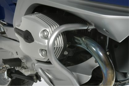 Engine protection bar – silver