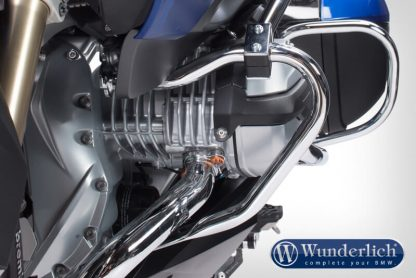 Engine protection bar – chrome