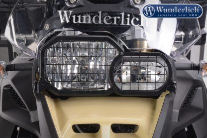 Head light grill   foldable – black