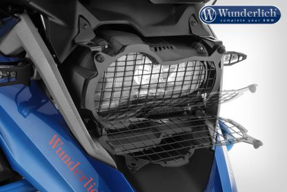 Headlight protector Clear Protect, foldable  black