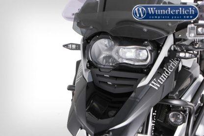 Aluminium air intake grid – black