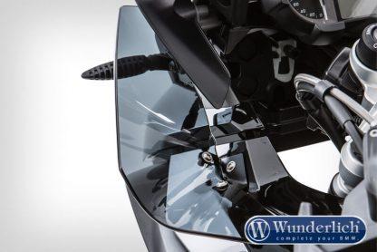 ERGO wind deflector – smoked grey