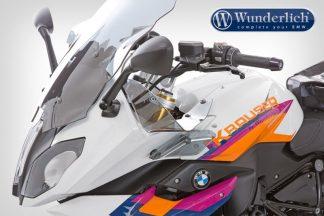 Wunderlich Ergo wind deflector – clear