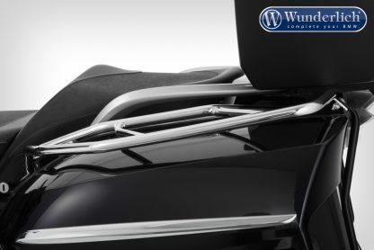 Wunderlich luggage rails for original case – left – silver