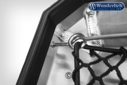 Wunderlich luggage net for aluminium Topcase – Piece – black