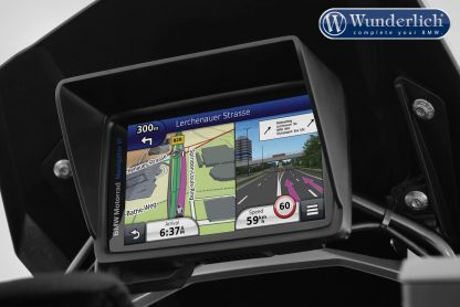 Wunderlich Device glare shield BMW Navigator VI  black