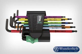 Wera L-keys set Torx Multicolor