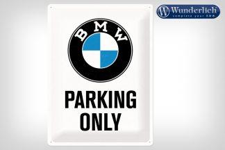 BMW Parking Only metal sign 30 x 40 cm – Nostalgic-Art