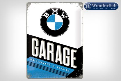 BMW Garage metal sign 30 x 40 cm – Nostalgic Art