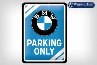 BMW Parking Only metal sign 15 x 20 cm – Nostalgic Art