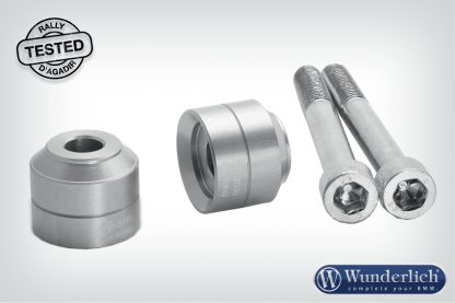 Wunderlich handlebar riser 20mm – silver