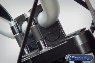 Handlebar riser without Navigation System 25mm – black