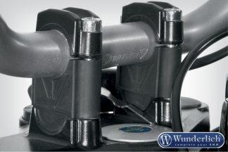 Handlebar riser for Models without BMW Navigation System 35mm – black