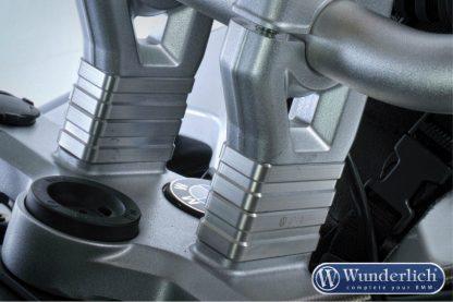 Handlebar riser 40mm – silver