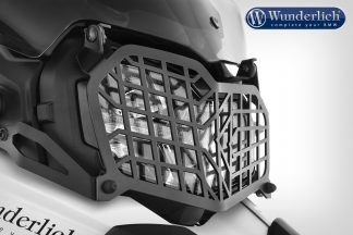 Wunderlich foldable headlight protection grill – black