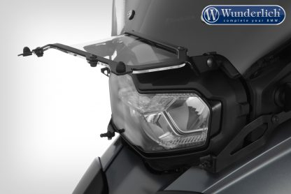 Wunderlich Headlight protector foldable CLEAR – black