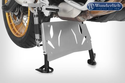 Wunderlich centre stand protection plate – silver