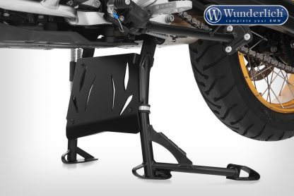 Wunderlich centre stand protection plate – black