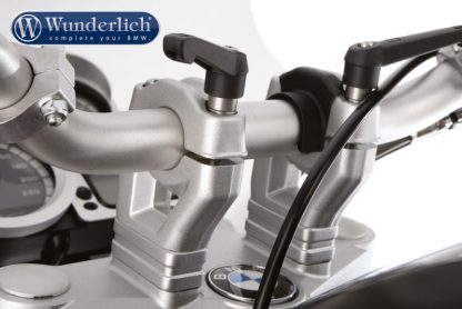 Wunderlich handle bar quick release fastener  only with bar riser  black