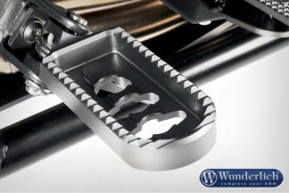 Lower footrests ERGO Comfort – silver