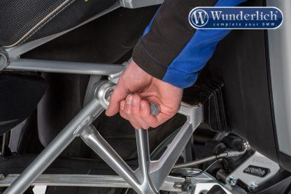 Lifting handle  silver