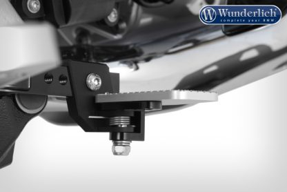 Wunderlich foot brake lever lowering kit – 30mm – black