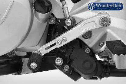 Wunderlich gear shift lever CLEVER LEVER – silver