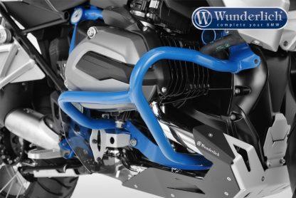 Wunderlich engine crash bar – blue