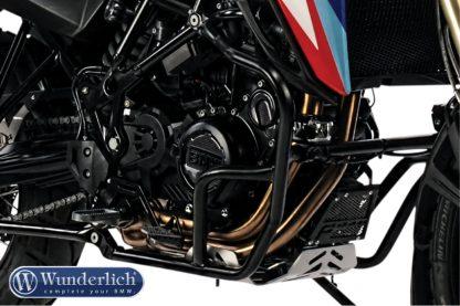 Wunderlich Protection bar set Adventure + Basic – black