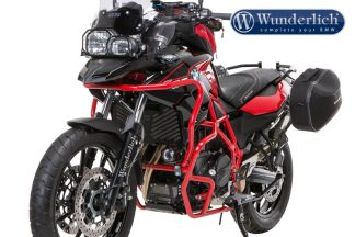 Wunderlich crash bars – red