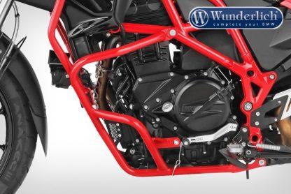 Wunderlich Protection bar set ADVENTURE – red