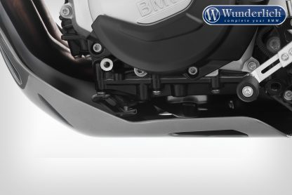 Wunderlich EXTREME+ engine protection for F 750/850 GS – without original motor protection plate – silver