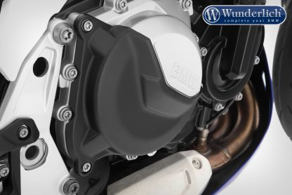 Wunderlich protective cover set for clutch and alternator cover – black F750 GS/ F850 GS