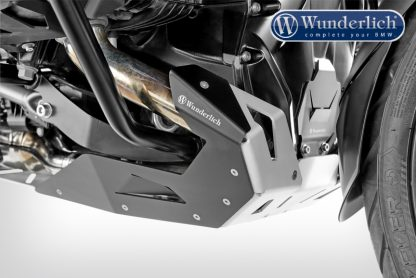 Engine protection plates Extreme  black/silver