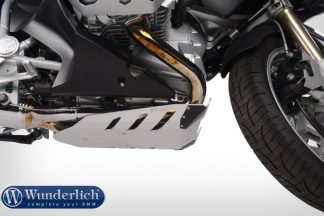 Engine protection plates Dakar – silver