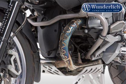 Wunderlich Header pipe protector – silver
