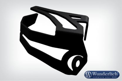 Brake reservoir protector rear – black