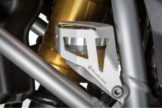 Brake reservoir protector rear  silver