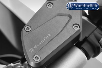 Clutch and brake reservoir cover set  titanium