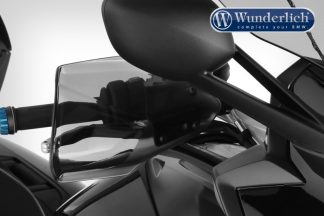 Wunderlich Hand guards CLEAR-PROTECT – smoked grey