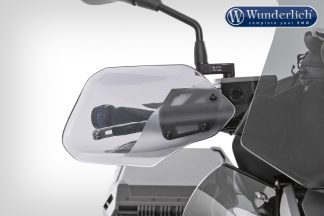 Wunderlich Hand guard CLEAR PROTECT – smoked grey