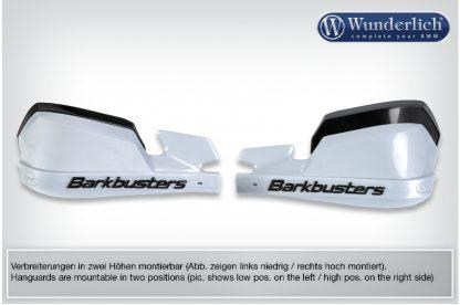 Handguards Barkbusters  silver